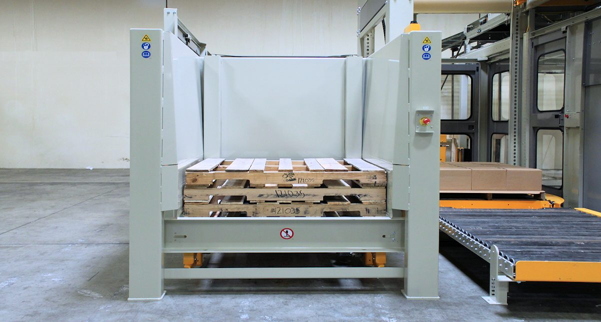 palletizer pallet dispenser