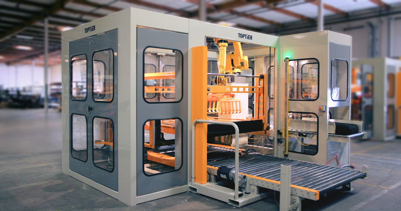 robot robotic palletizer