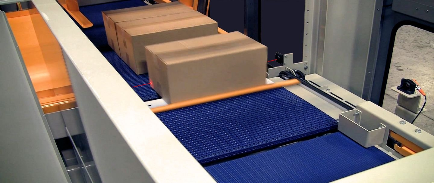 palletizer infeed induction