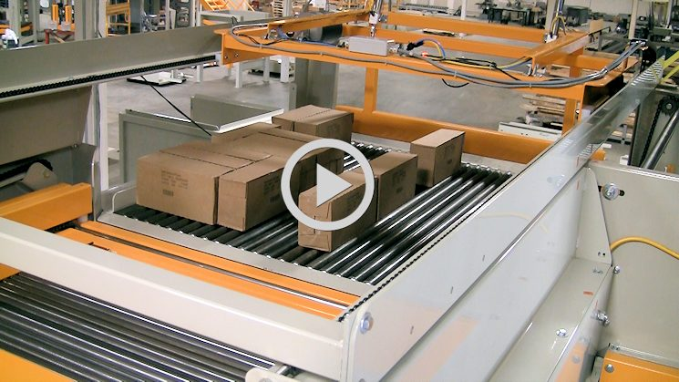 high infeed palletisers